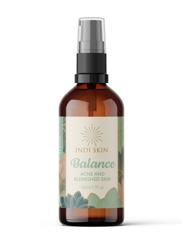 Indi Skin Balance Serum, Acne and Blemished Skin Serum