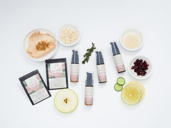 Indi Skin Hydrate Samples