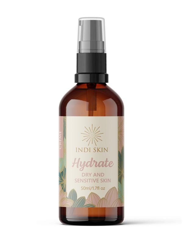 Hydrate Creme, Dry and Sensitive Skin Cream, Dry Skin Moisteriser